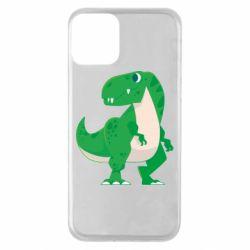Чохол для iPhone 11 Green little dinosaur
