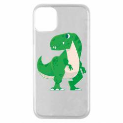 Чохол для iPhone 11 Pro Green little dinosaur