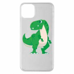 Чохол для iPhone 11 Pro Max Green little dinosaur