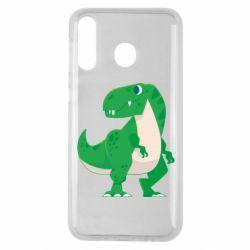 Чохол для Samsung M30 Green little dinosaur