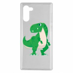 Чохол для Samsung Note 10 Green little dinosaur