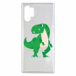 Чохол для Samsung Note 10 Plus Green little dinosaur