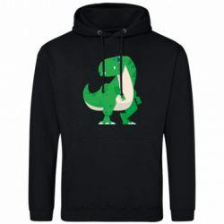 Чоловіча толстовка Green little dinosaur