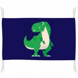 Прапор Green little dinosaur