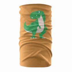 Бандана-труба Green little dinosaur