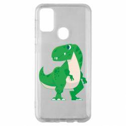 Чохол для Samsung M30s Green little dinosaur
