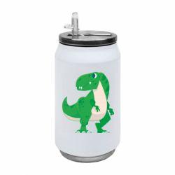 Термобанка 350ml Green little dinosaur
