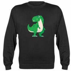 Реглан (світшот) Green little dinosaur