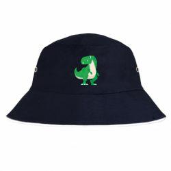Панама Green little dinosaur