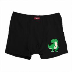 Чоловічі труси Green little dinosaur