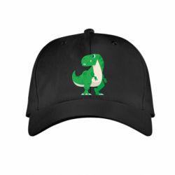 Дитяча кепка Green little dinosaur