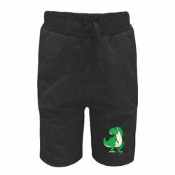 Дитячі шорти Green little dinosaur