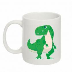 Кружка 320ml Green little dinosaur