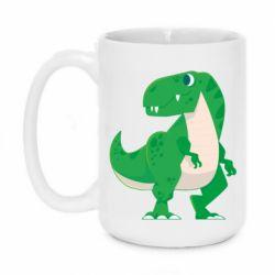Кружка 420ml Green little dinosaur