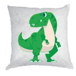Подушка Green little dinosaur