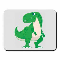 Килимок для миші Green little dinosaur