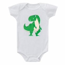 Дитячий бодік Green little dinosaur
