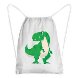 Рюкзак-мішок Green little dinosaur