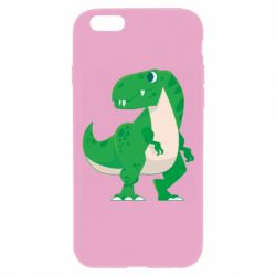 Чохол для iPhone 6 Plus/6S Plus Green little dinosaur