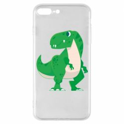Чохол для iPhone 7 Plus Green little dinosaur