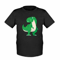 Дитяча футболка Green little dinosaur