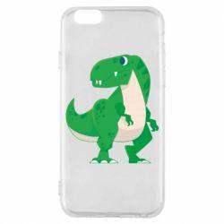 Чохол для iPhone 6/6S Green little dinosaur