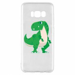 Чохол для Samsung S8 Green little dinosaur