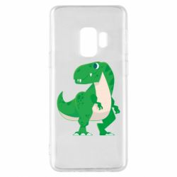 Чохол для Samsung S9 Green little dinosaur