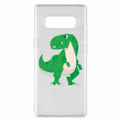 Чохол для Samsung Note 8 Green little dinosaur