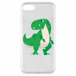 Чохол для iPhone 8 Green little dinosaur