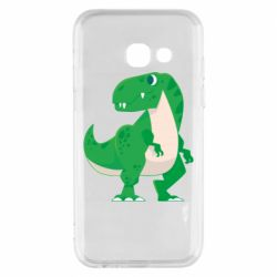 Чохол для Samsung A3 2017 Green little dinosaur