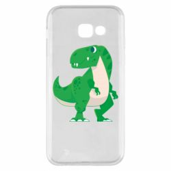 Чохол для Samsung A5 2017 Green little dinosaur