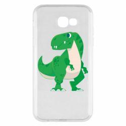 Чохол для Samsung A7 2017 Green little dinosaur