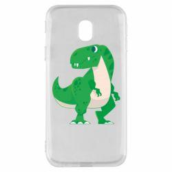 Чохол для Samsung J3 2017 Green little dinosaur
