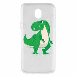 Чохол для Samsung J5 2017 Green little dinosaur