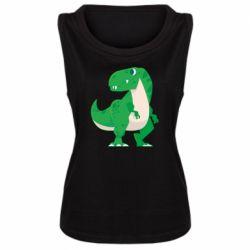 Майка жіноча Green little dinosaur