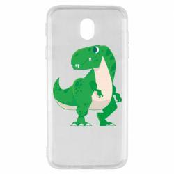 Чохол для Samsung J7 2017 Green little dinosaur