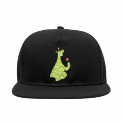 Снепбек Green llama with a garland