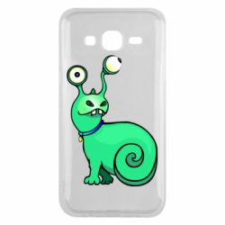 Чехол для Samsung J5 2015 Green monster snail