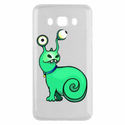 Чехол для Samsung J5 2016 Green monster snail