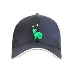 Кепка Green monster snail
