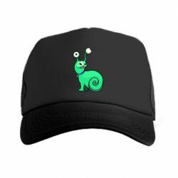 Кепка-тракер Green monster snail