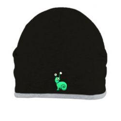 Шапка Green monster snail