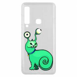 Чехол для Samsung A9 2018 Green monster snail