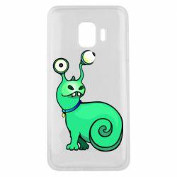 Чехол для Samsung J2 Core Green monster snail