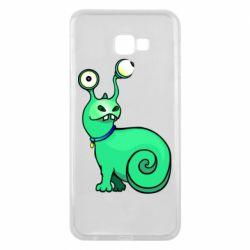 Чехол для Samsung J4 Plus 2018 Green monster snail