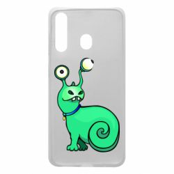 Чехол для Samsung A60 Green monster snail