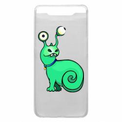 Чехол для Samsung A80 Green monster snail