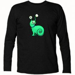 Футболка с длинным рукавом Green monster snail