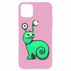Чехол для iPhone 11 Green monster snail
